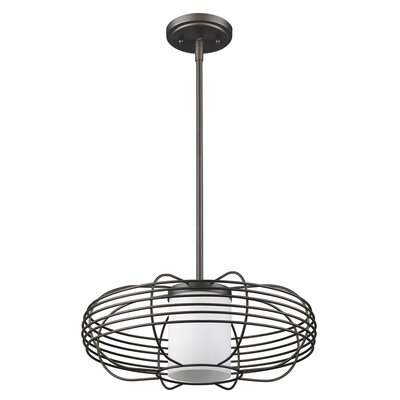 Sherer 1-Light Globe Pendant