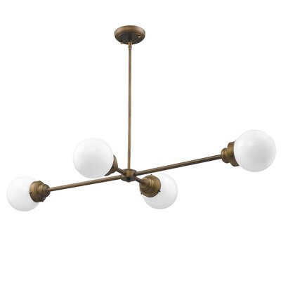 Weisberg 4-Light Sputnik Chandelier