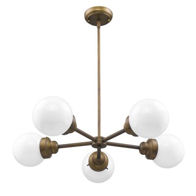 Weisberg 5-Light Sputnik Chandelier