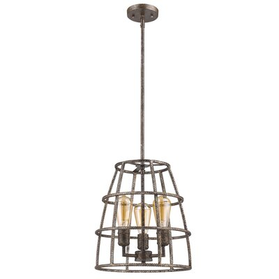 Guillaume 3-Light Foyer Pendant