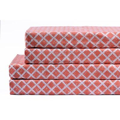 Hopedale 100% Cotton 4 Piece Sheet Set