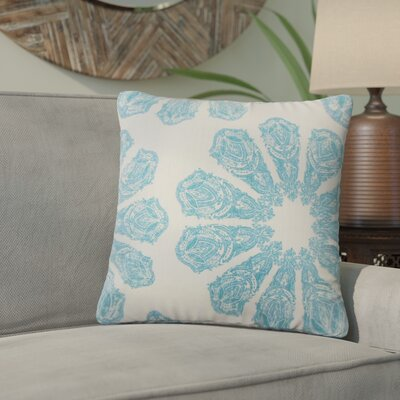 Pismo Beach Ikat Down Filled 100% Cotton Throw Pillow Size: 24 x 24, Color: Turquoise