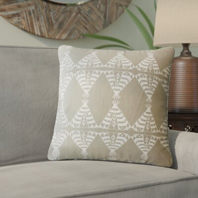 Vail Geometric Down Filled 100% Cotton Throw Pillow Size: 20 x 20, Color: Driftwood