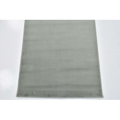 Christi Light Green Area Rug Rug Size: Rectangle 6 7 x 9 10