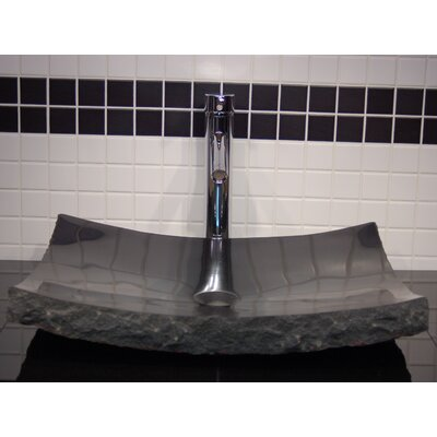 Zen Large Granite Rectangular Vessel Bathroom Sink