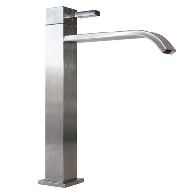 Meka Single Handle Bathroom Faucet Finish: Brushed Nickel