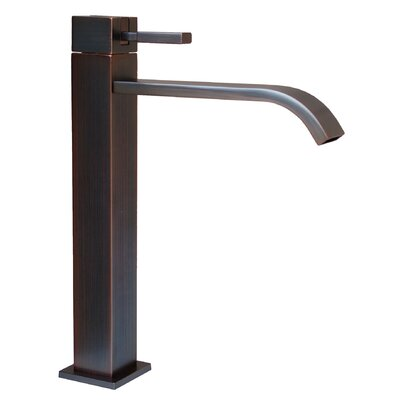 Meka Single Handle Bathroom Faucet Finish: Oil Rubbed Bronze
