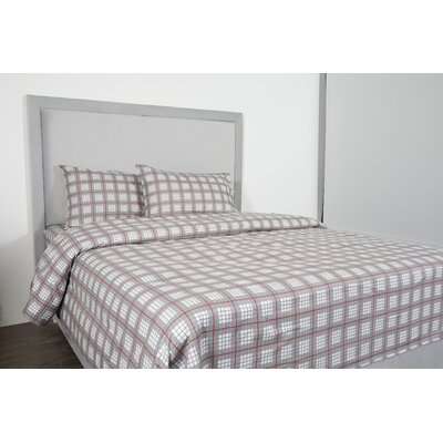 Costigan 100% Cotton 4 Piece Sheet Set Size: Queen