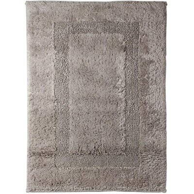 Fairman Reversible Absorbent 100% Cotton Bath Rug Size: 0.8 H x 39.4 W x 23.6 D, Color: Light Brown