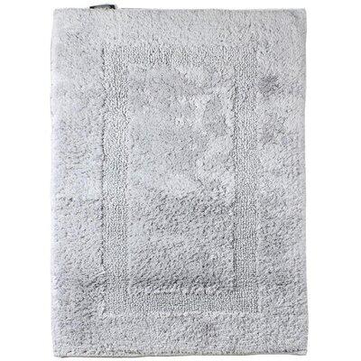 Fairman Reversible Absorbent 100% Cotton Bath Rug Size: 0.8 H x 31.5 W x 19.7 D, Color: Gray