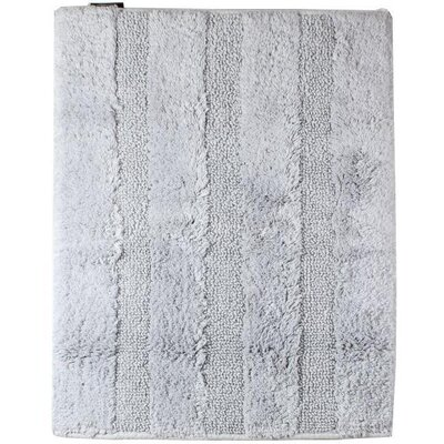 Fairman Reversible Absorbent 100% Cotton Bath Rug Size: 0.6 H x 27.6 W x 19.7 D, Color: Light Gray