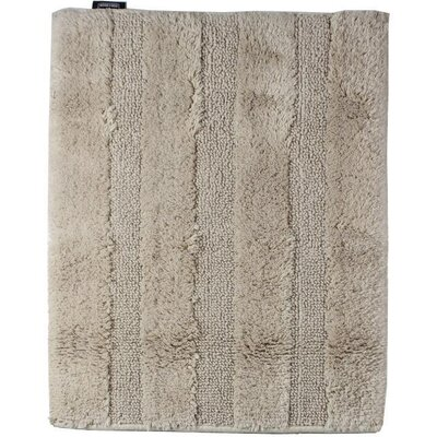 Fairman Reversible Absorbent 100% Cotton Bath Rug Size: 0.6 H x 27.6 W x 19.7 D, Color: Light Brown