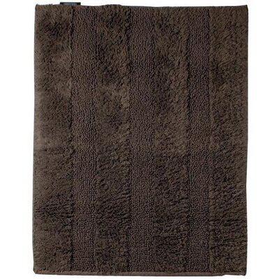 Fairman Reversible Absorbent 100% Cotton Bath Rug Size: 0.6 H x 47.2 W x 27.6 D, Color: Brown