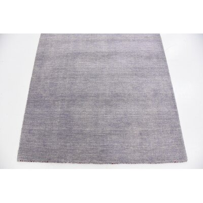 Taul Hand-Knotted Wool Light Gray Area Rug