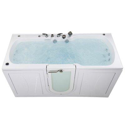 Big4Two 80 x 36 Walk in Whirlpool Bathtub with Heated Seats