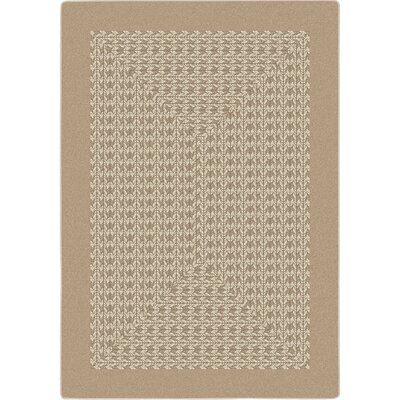 Constantine Beige Area Rug Rug Size: Oval 54 x 78