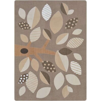 Altman Shady Grove Brown Area Rug Rug Size: 54 x 78