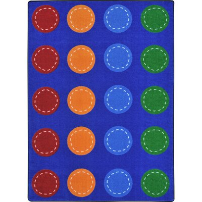 Amalthea Spaces and Places Blue Area Rug
