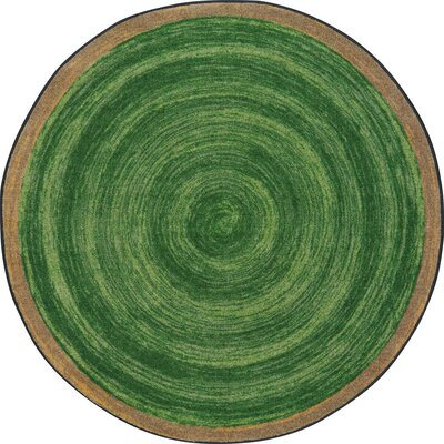 Edwyn Pine Area Rug Rug Size: Round 77