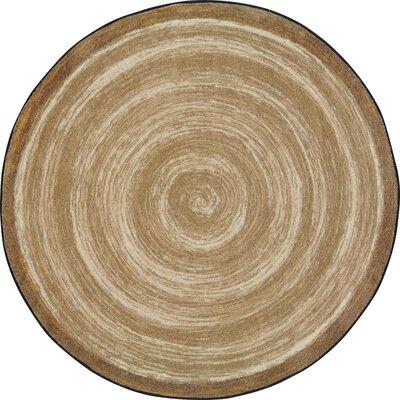 Edwyn Sand Area Rug Rug Size: Round 77