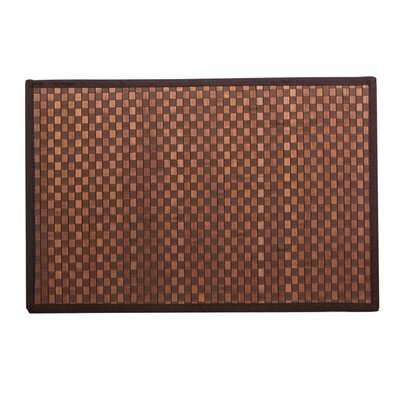 Kato Bamboo Doormat Color:  Brown