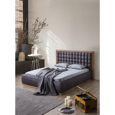 Keim Upholstered Platform Bed Size: California king