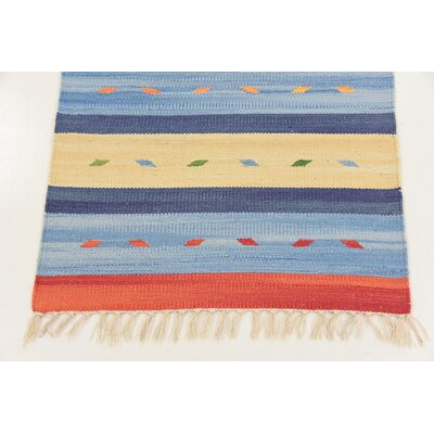 Gloucester Hand woven Wool Red/Beige Area Rug Rug Size: Runner 2 x 71