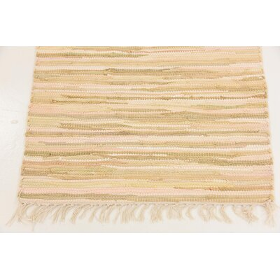 Brody Hand Woven Wool Ivory Area Rug Rug Size: Runner 2 x 71