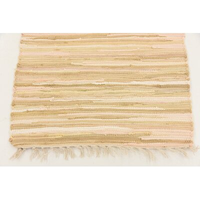 Brody Hand Woven Wool Ivory Area Rug Rug Size: Runner 2 x 92