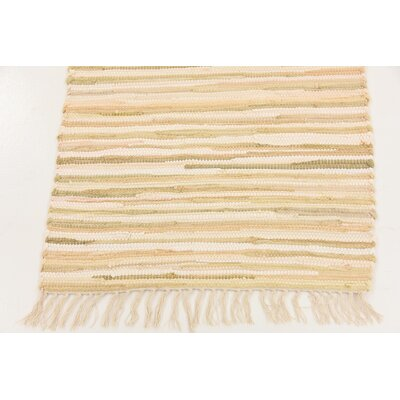 Brody Hand Woven Wool Ivory Area Rug Rug Size: Runner 2 x 67