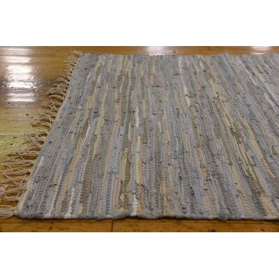 Bridgegate Hand woven Wool Beige/Gray Area Rug