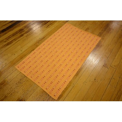 Breckenridge Hand woven Wool Orange Area Rug
