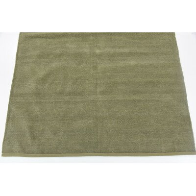 Bayley Hand Woven Wool Green Area Rug