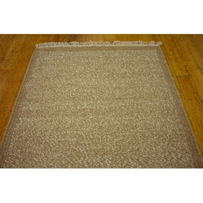 Lanesborough Hand woven Wool Light Brown Area Rug