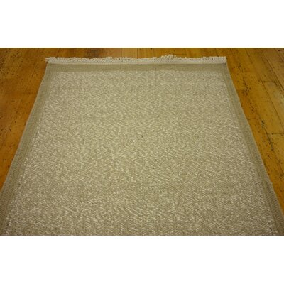 Leicester Hand woven Wool Light Brown Area Rug