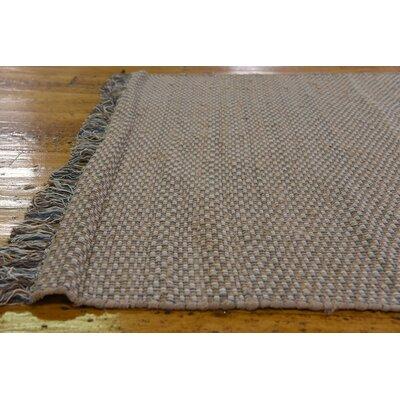 Bretagne Hand woven Wool Beige/Gray Area Rug