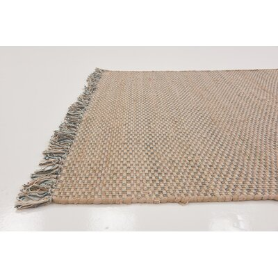 Brodie Hand woven Wool Beige Area Rug