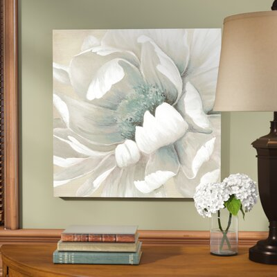 'Winter Blooms II' Print on Wrapped Canvas Size: 24
