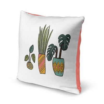 Clay Throw Pillow Size: 16 H x 16 W