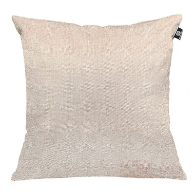 Home Decor Couch Cotton Pillow Cover Color: Light Gray, Size: 18 x 18