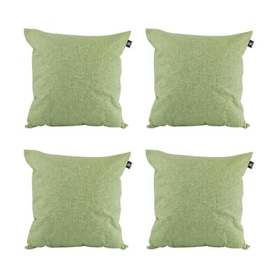 Cotton Pillow Cover Color: Moss green, Size: 20 x 20