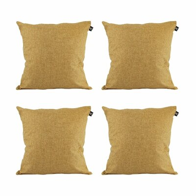 Cotton Pillow Cover Color: Walnut, Size: 20 x 20