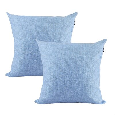 Home Decor Couch Sofa Cotton Pillow Cover Color: Lavender, Size: 20 x 20