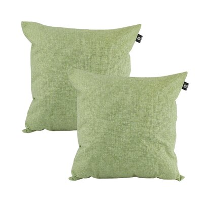 Home Decor Couch Sofa Cotton Pillow Cover Color: Moss green, Size: 18 x 18