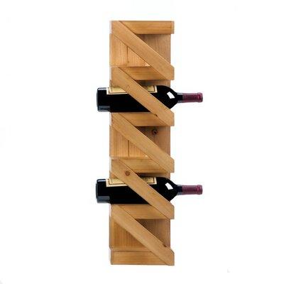 Dunkley 5 Bottle Wall Mounted Wine Rack
