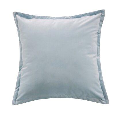 Phipps Decorative Velvet Throw Pillow Color: Blue