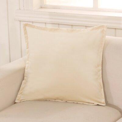 Phipps Decorative Velvet Throw Pillow Color: Beige