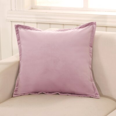 Phipps Decorative Velvet Throw Pillow Color: Lavender