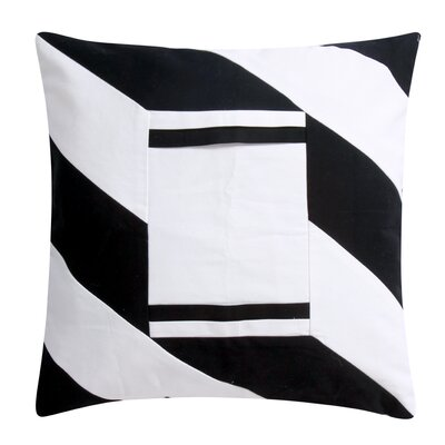 Phoenicis iPhone/iPad Decorative Throw Pillow Color: White/Black