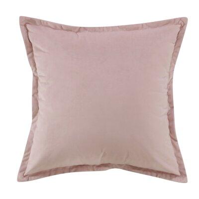 Phipps Decorative Velvet Throw Pillow Color: Pink